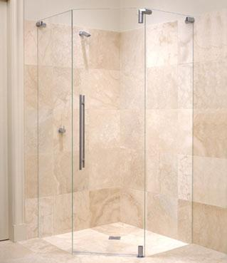 Civic Sliding Frameless Shower Screen Civic Screens