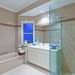 Frameless Corner Panel Shower Screen