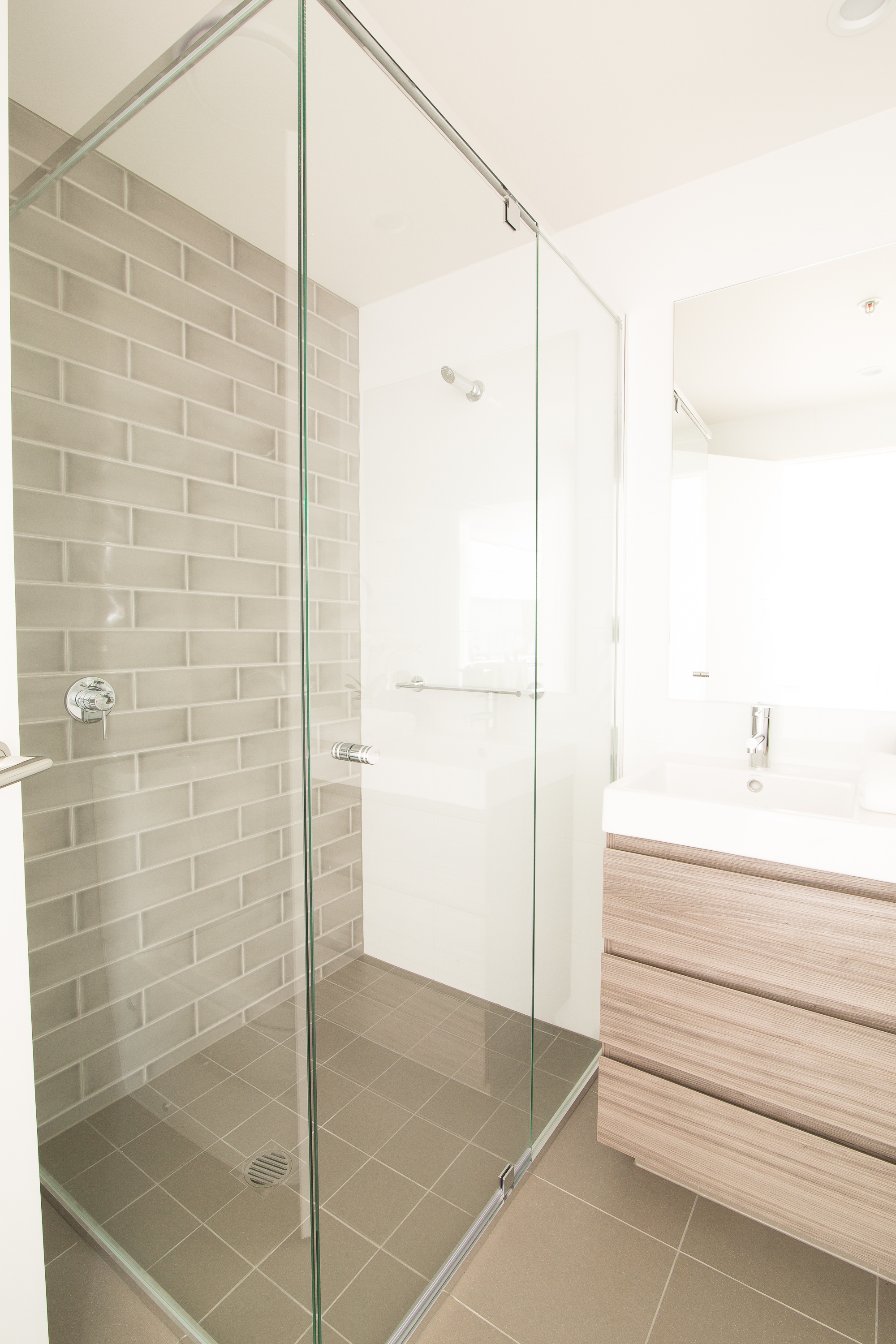Semi Frameless Shower Screen Vogue Civic Screens