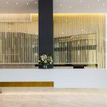 Frameless Super Gold One Way Reception Mirror