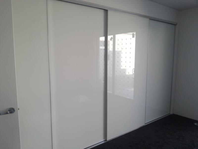 Frameless Mirror Robe Doors
