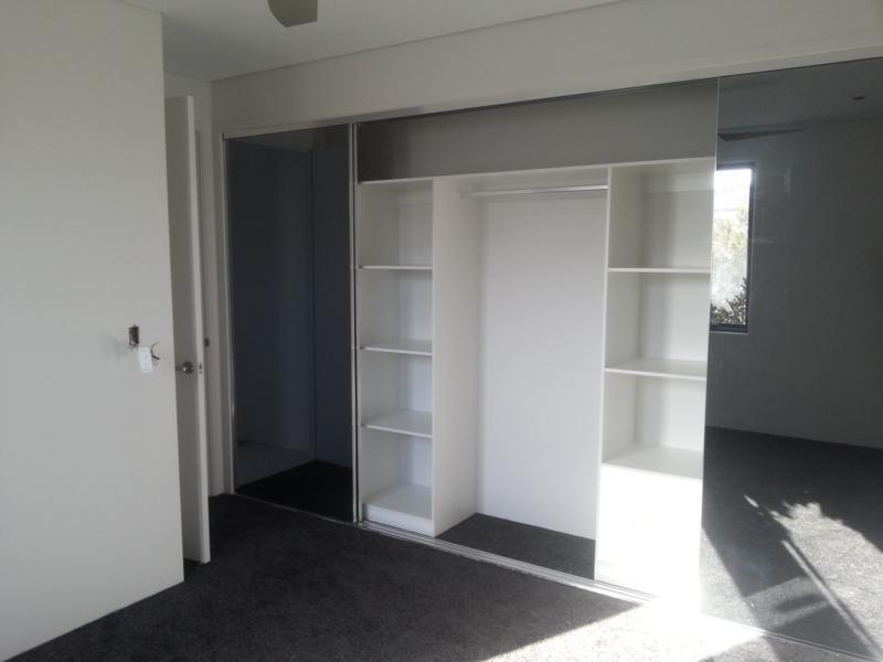 Grey Robe Doors Built In