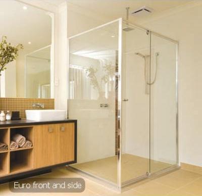 Front & Return Shower Screen