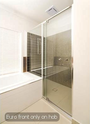 Front Only Shower Screen