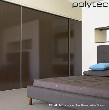 Sliding Polytec - New Barron Alder Wardrobe Doors