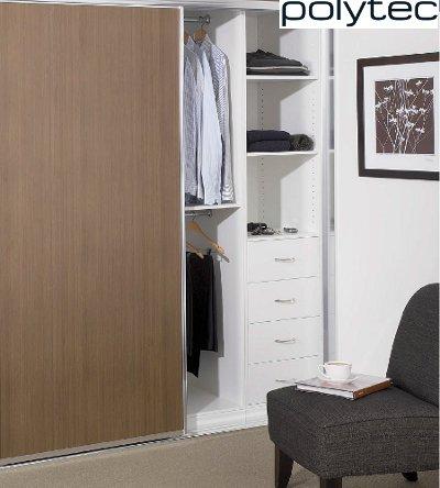 Sliding Polytec Wardrobe Doors