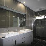 Frameless Vanity Mirror & Semi-Frameless Shower Screen