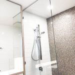 Frameless Shower Screen Panel; 10mm Glass