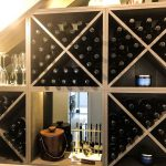 Frameless Mirror for Wine Cellar & Colour Board Shelving