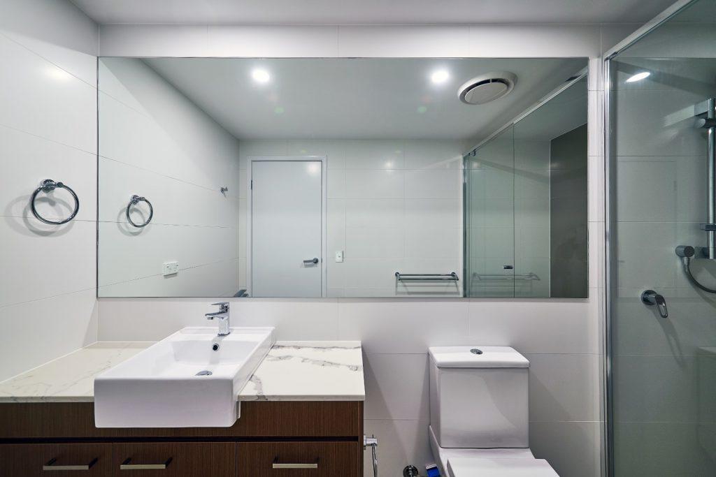 Frameless Vanity Mirror