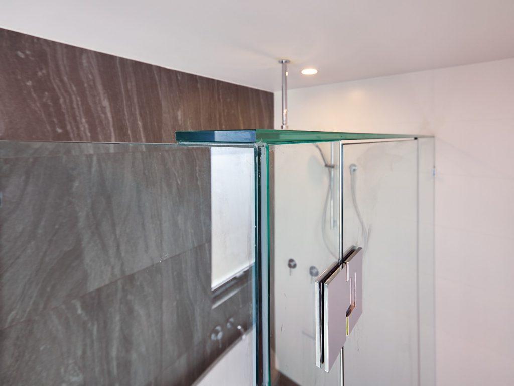 Glass Brace for Frameless Shower Screen