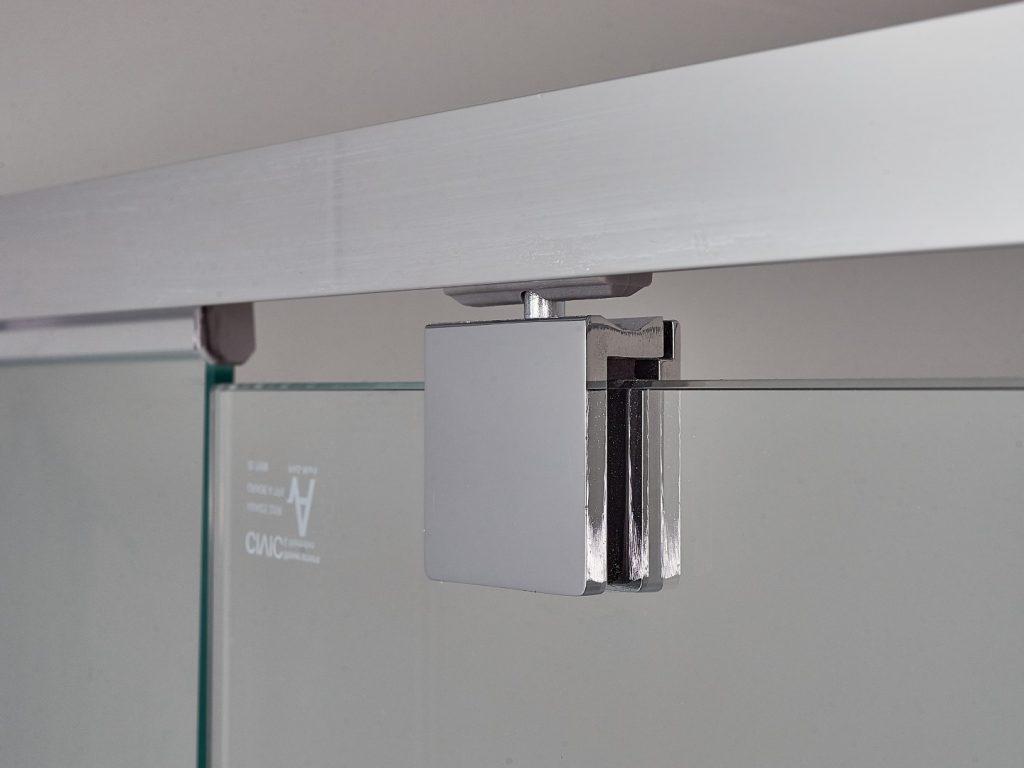 Polished Silver Shower Screen Pivot